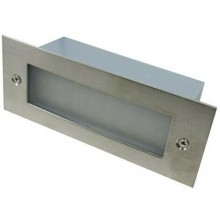 Faretto calpestabile uso esterno interno 2W luce calda 3000K LED IP65 da incasso