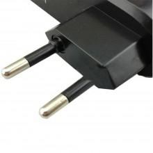 Carica batterie ricaricabili AA C pile caricatore universale presa corrente EU