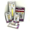 Coppia Lampadine LED Attacco G9 luce Calda Fredda 3W 5W 9W ricambi lampadina PC