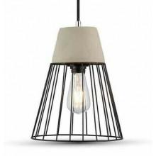 Lampadario sospensione 60W soffitto VT-7253 3848 luce pendente moderno casa