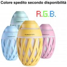 Umidificatore aromaterapia RGB Olive Humidifier casa relax diffusore aroma home