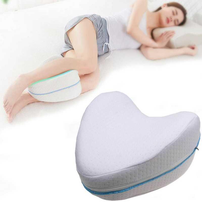 Dormire Con Il Cuscino Tra Le Gambe.Cuscino Memory Foam Tra Le Gambe Ginocchia Sciatica Lombalgia Gravi