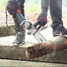 Kit sega motosega elettrica a catena taglia legna per smerigliatrice angolare