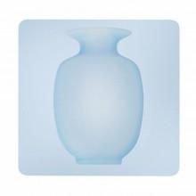 2x Vaso contenitore silicone appendere piantine frigorifero vetri fiori casa