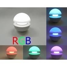 LAMPADA LED RGB FUNGO CROMOTERAPIA MULTICOLORE RILASSANTE