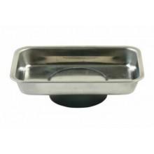 Vassoio magnetico mini vaschetta porta utensili metallici viti calamita 64x93mm