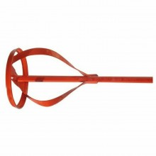 Frusta in acciaio per trapano miscelatore pittura colla utensile impastatrice