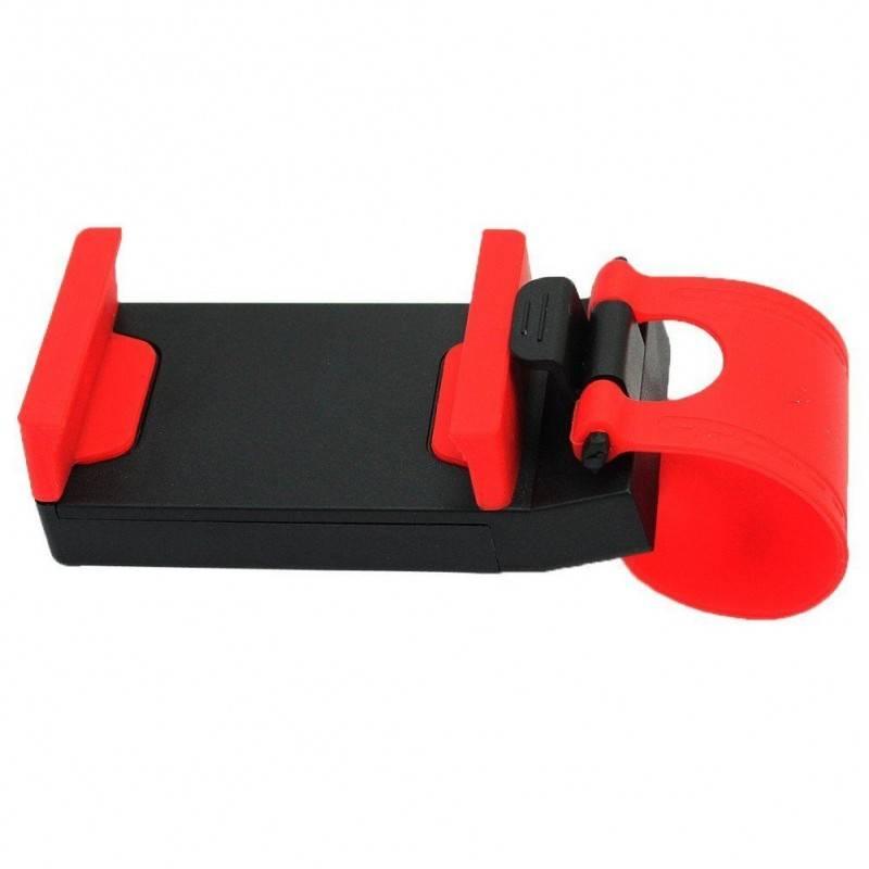Supporto Sostegno Volante Sterzo Auto Porta Cellulari Smartphone Universale