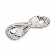Prolunga elettrica lineare cavo 5 metri spina presa 10A 2P+T bipasso