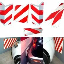 Pannello adesivo parabordo adesivo protettore segnaletico per auto e moto paraurti salvaporta garage parcheggi box
