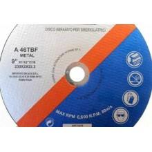 Set 5 dischi da taglio ferro per smerigliatrice angolare flex 230 mm 2 mm