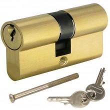 Cilindro europeo da incasso con 2 chiavi serratura sicurezza tutte le misure