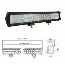 Faro barra luce LED 288W auto fuoristrada proiettore barca 12 24 V potente 6000K