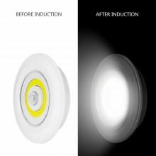 Luce notturna faretto lampadina sensore movimento casa armadio batteria