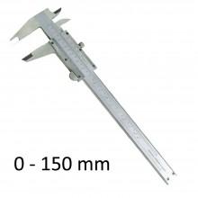 Calibro a Corsoio in metallo misura da 0 a 150 mm manuale misurazione lavoro