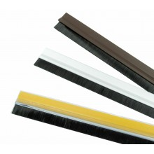 Paraspifferi spazzola in PVC sottoporta adesivo rigido 91,5 cm x 4,5 cm parafreddo