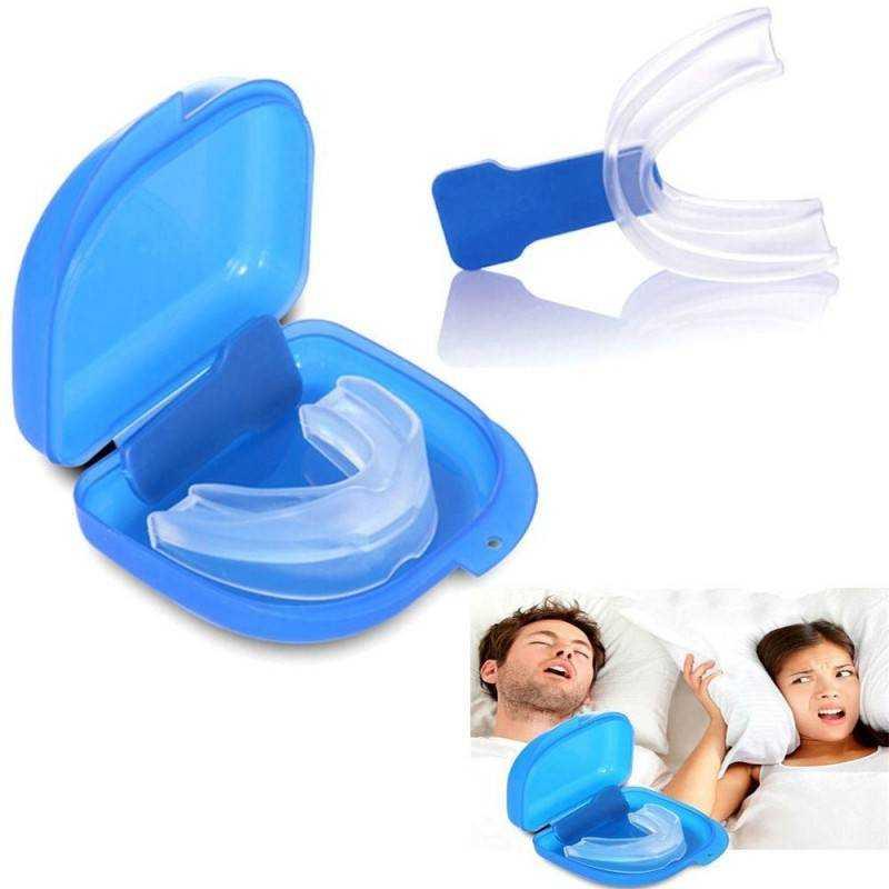 Anti russare bite per smettere di russare nel sonno da bocca stop anti snore