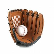 Guantone Baseball 11,5 pollici softball sports lanci guanto allenamento Marrone