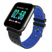 Orologio smartwatch A6 da polso per sport fitness monitor notifiche IOS ANDROID