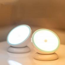 Luce notturna LED ricaricabile con sensore movimento magnetica ricaricabile