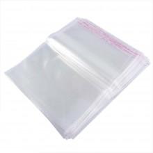 30pz Buste sacchetti Cellophane alimenti oggetti con chiusura 20x30 cm OPP