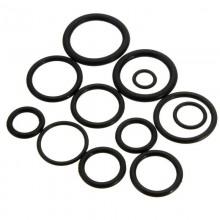 50pz Guarnizioni in gomma anelli 12 misure diverse set auto ferramenta assortito