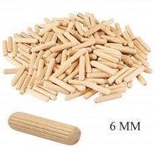 Tasselli in legno spine di giunzione valdomo 6 MM fissaggio ferramenta bricolage