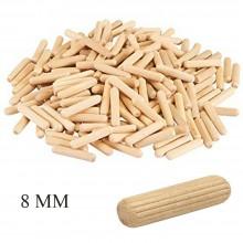 Tasselli in legno spine di giunzione valdomo 8 MM fissaggio ferramenta bricolage