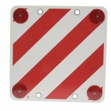 Cartello segnaletico polipropilene CARICO SPORGENTE auto camion 40x40 cm