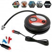Compressore aria pneumatici auto bici 260 PSI presa accendisigari portatile