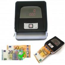 Rilevatore banconote false portatile aggiornabile verifica soldi denaro EURO