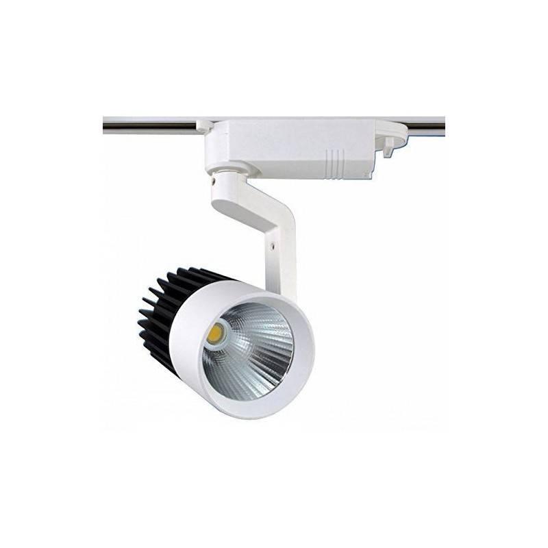 Faretto da Binario orientabile 20w o 30w illuminazione COB LED ideale per casa locale pub o ristorante