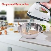 Sbattitore da cucina frusta elettrica impasto frullatore mixer impastatore 260W 7 velocità