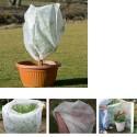 Cappuccio Termoclima 17gr TNT antigelo telo piante fiori orto terreno giardino