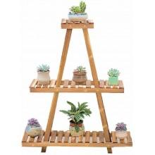 Portavaso Legno fioriera piante 80x25x80 cm giardino fiori vasi multi ripiano