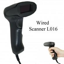 Lettore scanner codice a barre Barcode CON CAVO USB con filo pistola laser L016