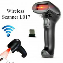 Lettore scanner codice a barre Barcode WIRELESS senza fili pistola laser L017