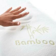 Cuscino cervicale 8 in 1 Bamboo Memory Foam guanciale letto anallergico 40x70