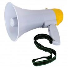 Megafono professionale altoparlante registratore musica sirena portata 200 metri