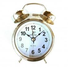 Orologio sveglia doppia Campana elegante camera arredo al quarzo TS030