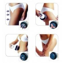 Massaggiatore anticellulite lipomodellante testine rotanti massaggio tonificante