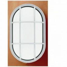 Plafoniera ovale applique da esterno interno 20W lampada luce calda fredda
