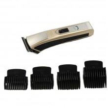 Taglia capelli Rasoio Elettrico ricaricabile barba 4 testine regolabile NK1700