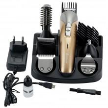 Taglia capelli Rasoio elettrico 6in1 barba peli tagliacapelli adattatori SH1711