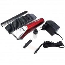 Taglia capelli Rasoio Elettrico ricaricabile barba 4 testine pettine peli SH1878