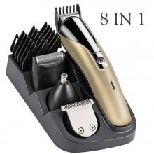 Taglia capelli 8 in 1 Rasoio Elettrico peli naso viso barba 4 testine SH1712