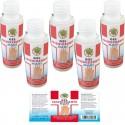 5X flaconi Gel igienizzante mani da 60 ml contenuto alcool 96% made in italy