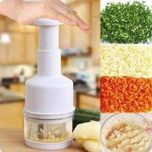 Trita verdure cipolla aglio tritatutto lame acciaio taglia ortaggi frutta cucina