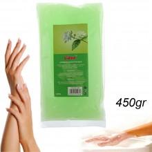 Sacchetto paraffina al Gelsomino cera cura mani piedi idratante bagno benessere