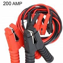 Cavi avviamento 200AMP collegamento batteria auto moto 12V 24V camper 2,5 mt